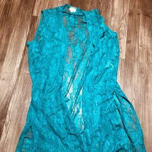 Medium Lularoe lace Joy open cardigan